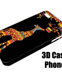 Aztec giraffe iphone cases