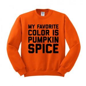 Pumpkin Spice Unisex Sweatshirt