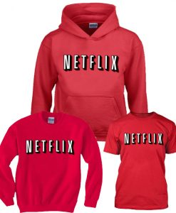 Netflix Red and chill Mens and Girls Shirt,Hoodies,Sweatshirts