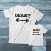 Beast-Beast inTraining Couple adult kids Tshirt