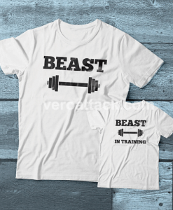 Beast-Beast inTraining Couple adult kids Tshirt