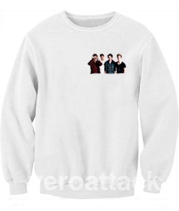 5sos funny face Unisex Sweatshirts