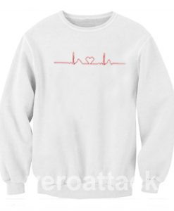 Heart Rate Monitor Fun Medical Unisex Sweatshirts