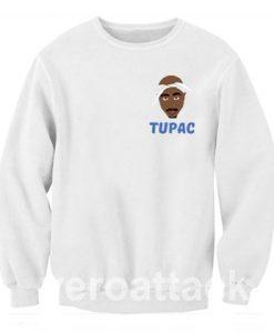 Tupac cartoon Unisex Sweatshirts