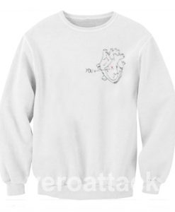 You x Heart Unisex Sweatshirts