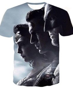 Batman vs Superman full print graphic shirt