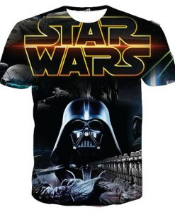Star wars dart vader full print graphic shirt