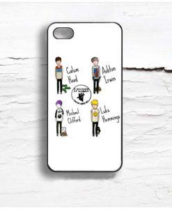 5 SOS Player Design Cases iPhone, iPod, Samsung Galaxy