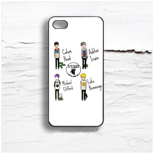 5 SOS Player Design Cases iPhone, iPod, Samsung Galaxy