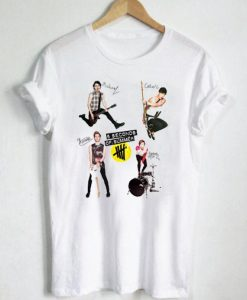 5 Seconds Of Summer art T Shirt Size S,M,L,XL,2XL,3XL