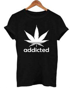 Addicted T Shirt Size S,M,L,XL,2XL,3XL