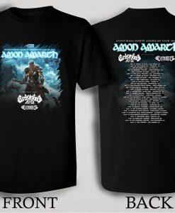 Amon Amarth 2016 North American Tour T Shirt Size S,M,L,XL,2XL,3XL