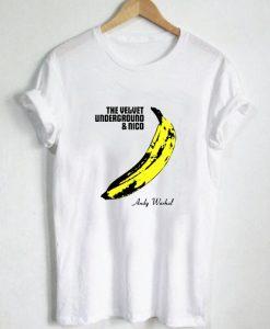 Andy Warhol Velvet Underground T Shirt Size S,M,L,XL,2XL,3XL