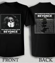 Beyonce The Formation World Tour 2016 T Shirt Size S,M,L,XL,2XL,3XL