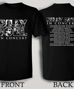 Billy Joel In Concert 2016 Tour T Shirt Size S,M,L,XL,2XL,3XL