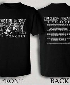 Billy Joel In Concert 2016 Tour T Shirt Size S,M,L,XL,2XL,3XL