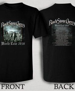 Black Stone Cherry World Tour 2016 T Shirt Size S,M,L,XL,2XL,3XL