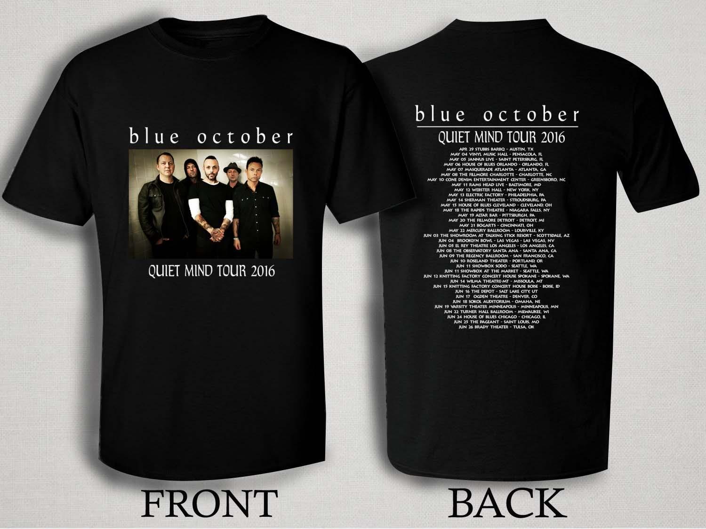 Blue October Quiet Mind Tour