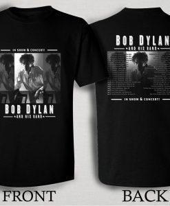 Bob Dylan Tour 2016 T Shirt Size S,M,L,XL,2XL,3XL
