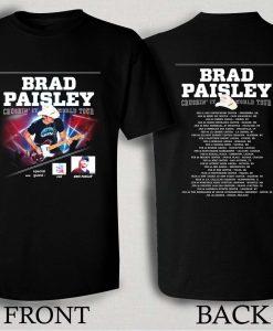 Brad Paisley 2016 World Tour T Shirt Size S,M,L,XL,2XL,3XL