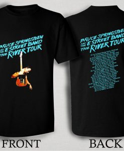 Bruce Springsteen 2016 The River T Shirt Size S,M,L,XL,2XL,3XL
