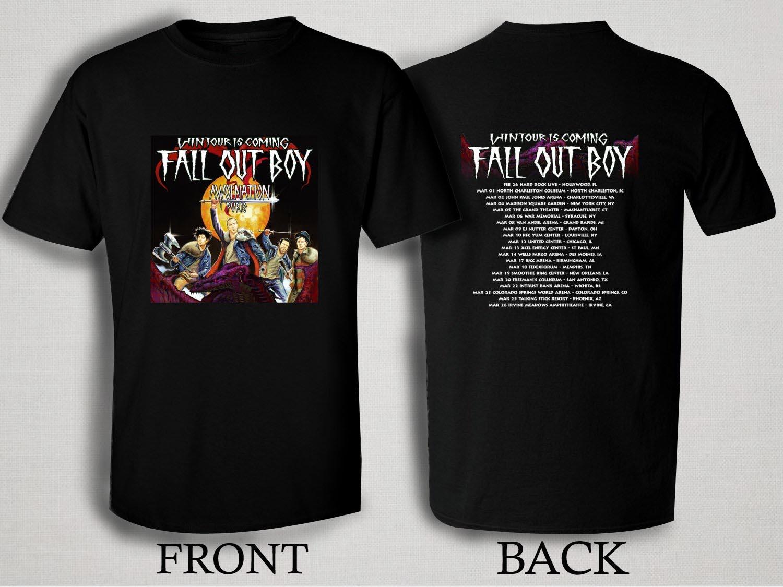 Fall Out Boy Shirt T Shirts Design Concept