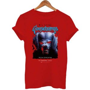 Goosebumps The Barking Ghost T Shirt Size S,M,L,XL,2XL,3XL