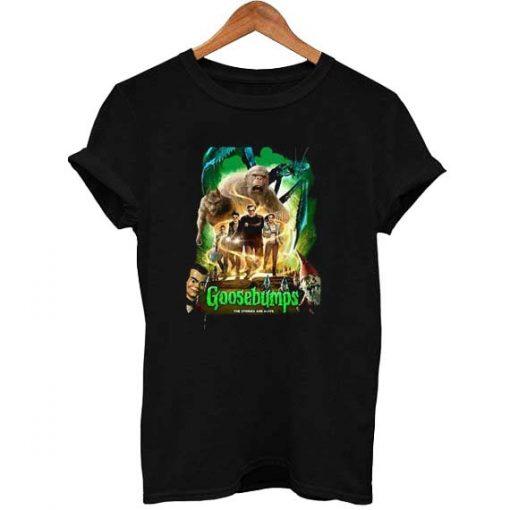 Goosebumps The Story Are Alive Kids T Shirt Size S,M,L,XL,2XL,3XL