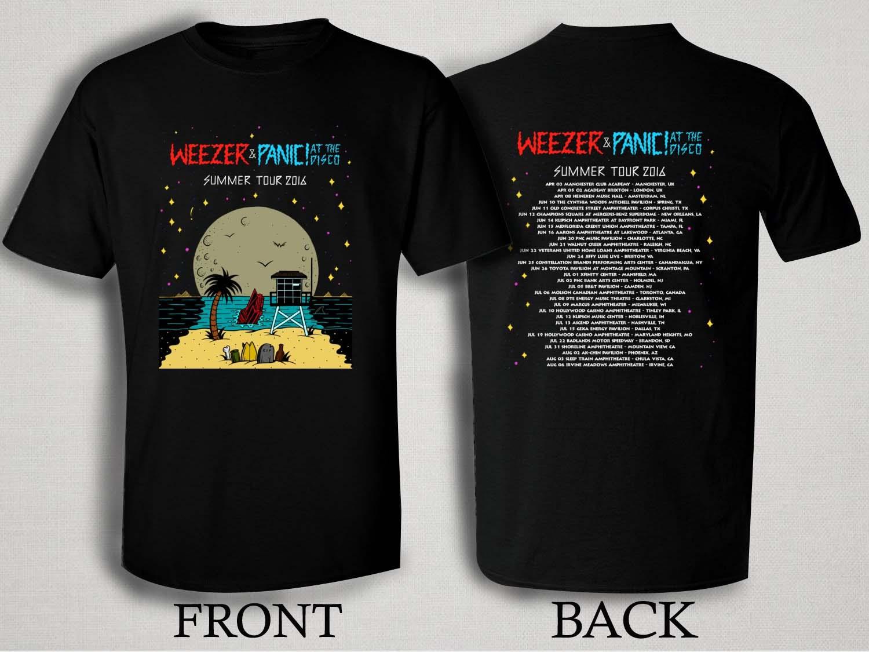 Panic At The Disco Tour Shirt