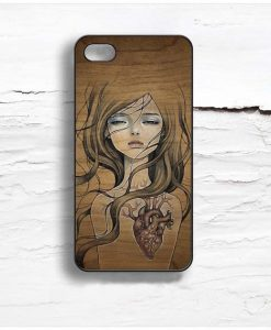 audrey kawasaki heart Design Cases iPhone, iPod, Samsung Galaxy
