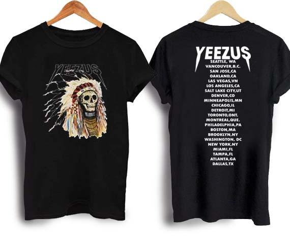 Yeezus Inspired T Shirt Kanye West Shirt Unisex Tees