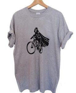 Darth Vader bicycle T Shirt Size S,M,L,XL,2XL,3XL