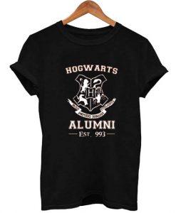 Hogwarts Alumni Harry Potter Logo T Shirt Size S,M,L,XL,2XL,3XL