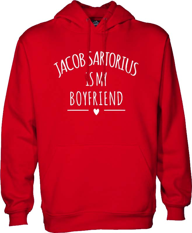 jacob sartorius boyfriend red Hoodies