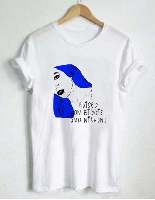 Halsey Raised On Biggie Nirvana T Shirt Size XS,S,M,L,XL,2XL,3XL