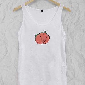 Two peach Adult tank top