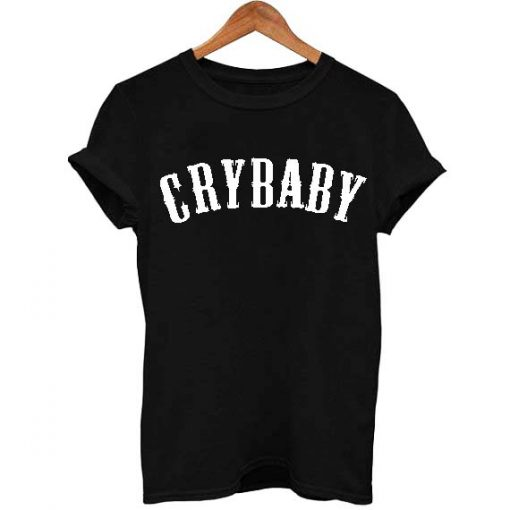 crybaby font T Shirt Size S,M,L,XL,2XL,3XL