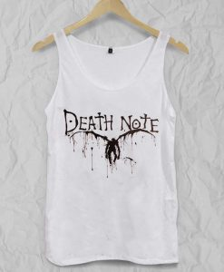 Death note Adult tank top