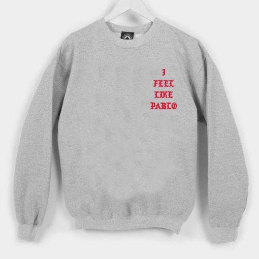 i feel like pablo red Unisex Sweatshirts
