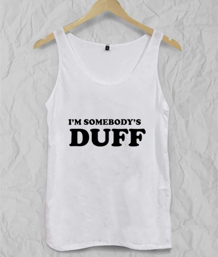 i'm somebody's duff Adult tank top
