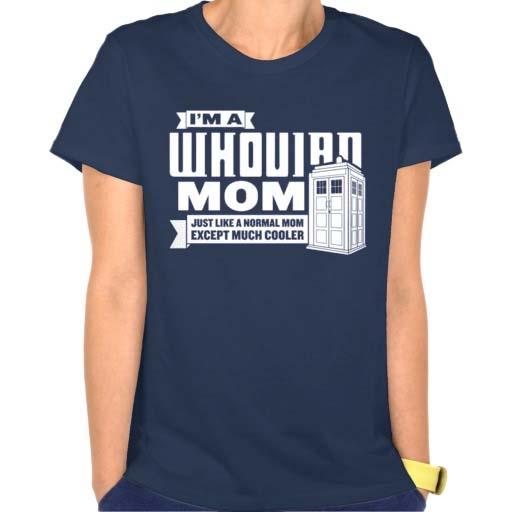 i\'m whovian mom Doctor who T Shirt Size S,M,L,XL,2XL,3XL