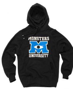 Monster university black Hoodies