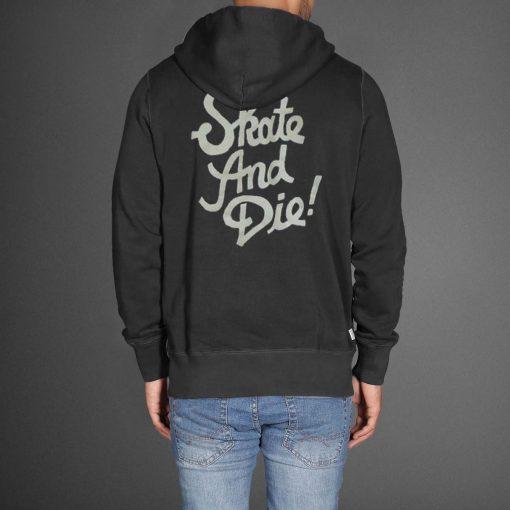 skate and die black Hoodies