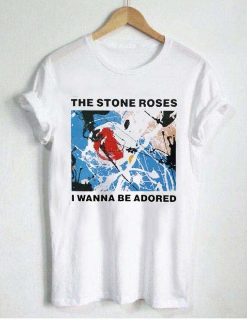 the stone roses T Shirt Size S,M,L,XL,2XL,3XL