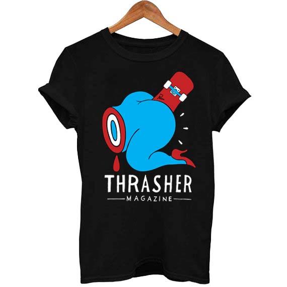 2bc21a75b2d4 thrasher magazine T Shirt Size S