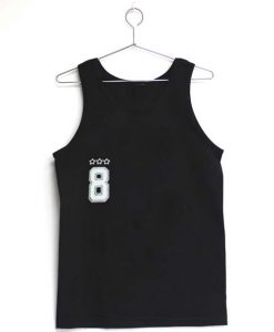 8 eight Adult tank top men and women