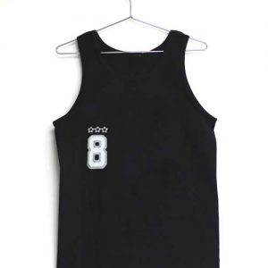 8 eight Adult tank top