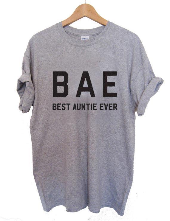 45e9a6636 BAE best auntie ever T Shirt Size XS,S,M,L,XL,2XL,3XL