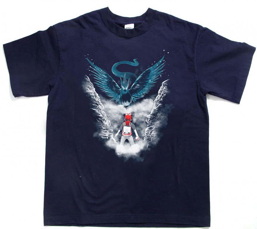 Pokemon Go Blue Team Mystic T Shirt Size Xs S M L Xl 2xl 3xl