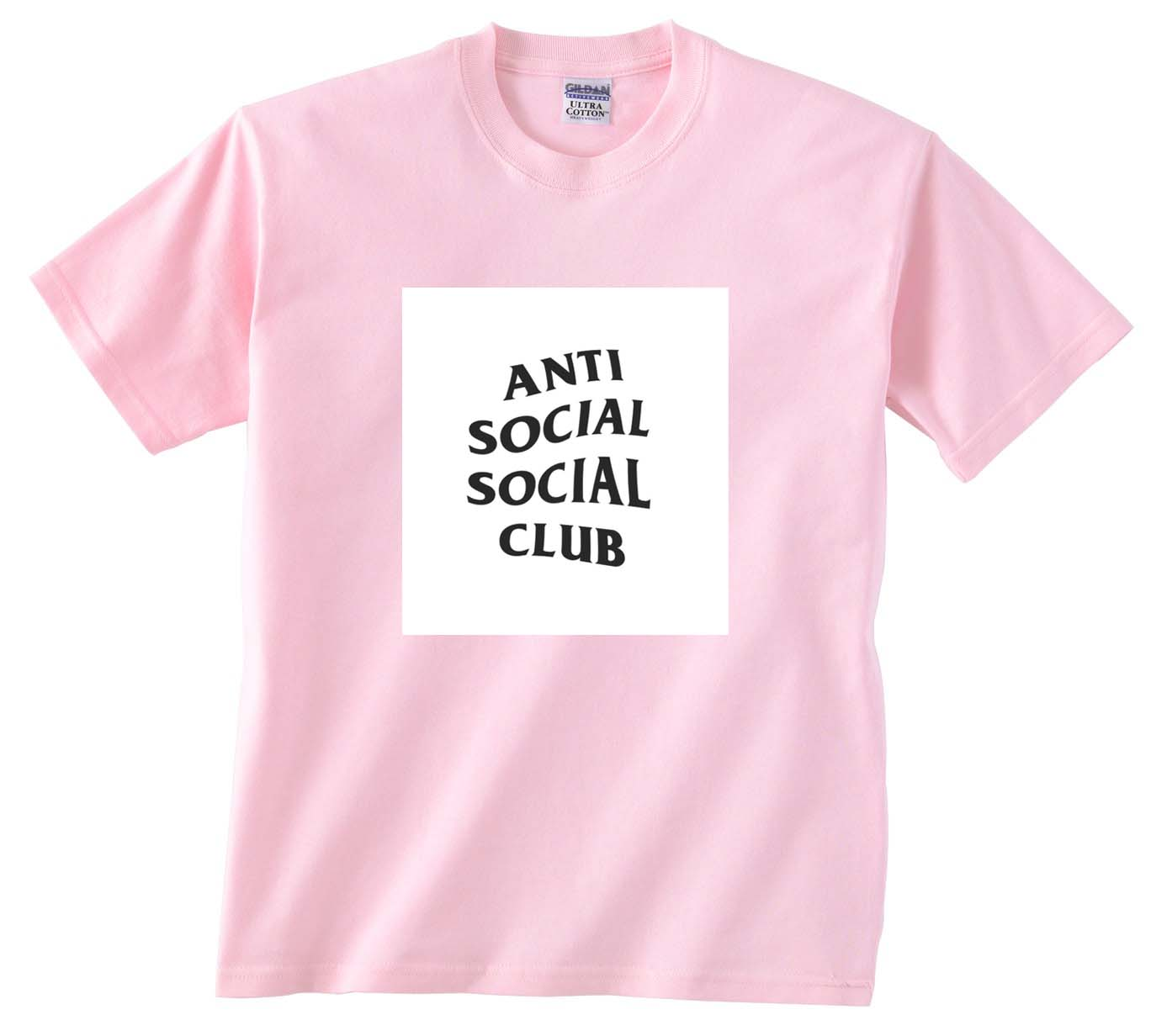 41752b8eb7f7 anti social social club light pink T Shirt Size S